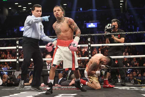 Gervonta Davis Knocks Out Cuellar In Punch Perfect Fashion