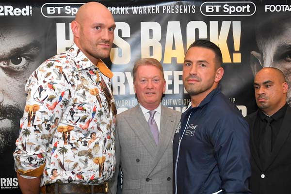 Tyson Fury predicts tougher battles ahead after winning return