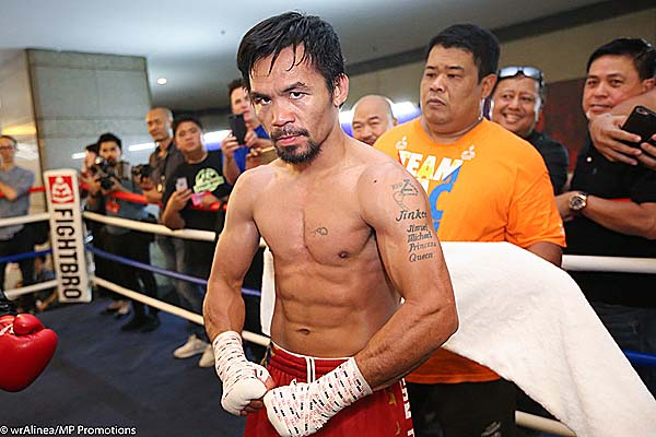 Manny Pacquiao Looking to Add Another Title to his Legacy