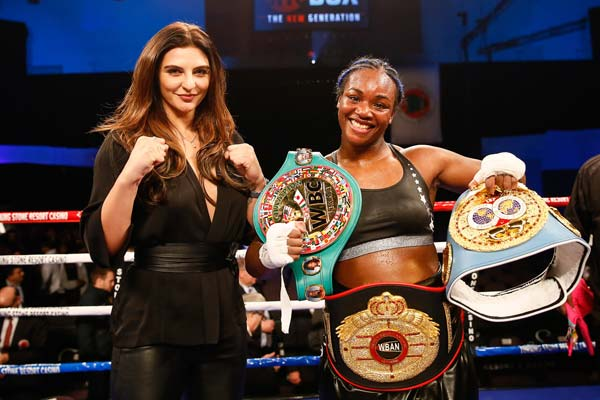 Claressa Shields retains titles with 10-round unanimous decision against Tori Nelson