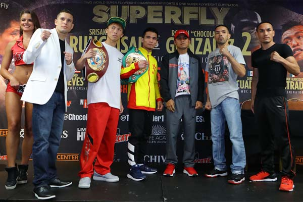Trio of super-flyweight bouts on tap at StubHub Center on Saturday
