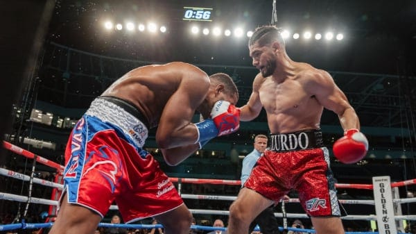 Boxing News: Zurdo stops Barrera with body shots in four » July 12, 2021